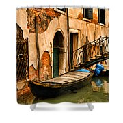 Sunday In Venice Shower Curtain
