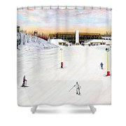 Sundial Lodge At Nemacolin Woodlands Resort Shower Curtain