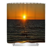 Sundown Admiration Shower Curtain