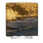 Sundown At Dinosaur Caves Shower Curtain