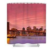 Sundown City Shower Curtain