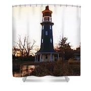 Sundown Dwight Windmill Shower Curtain