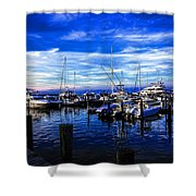 Sundown In Sag Harbor Shower Curtain