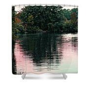 Sundown Just This Side Of The City Shower Curtain