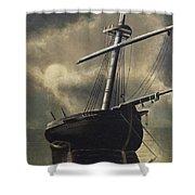Port Of Haven - Sundown Shower Curtain