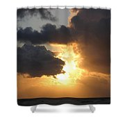 Sundown Supreme Shower Curtain