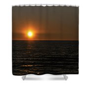 Sundown Twinkle Shower Curtain