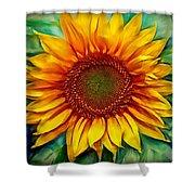 Sunflower - Paint Edition Shower Curtain