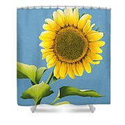 Sunflower Charm Shower Curtain