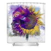 Sunflower Composite Shower Curtain