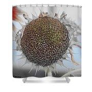 Sunflower Core Shower Curtain
