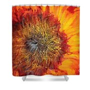 Sunflower Lv Shower Curtain