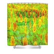 Sunflower Majic Shower Curtain