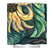 Sunflower One Panel Four Of Four Shower Curtain