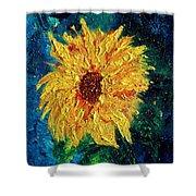 Sunflower - Tribute To Vangogh Shower Curtain