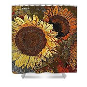Sunflowers 397-08-13 Marucii Shower Curtain