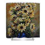 Sunflowers Fantasy Shower Curtain