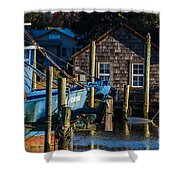 Shem Creek Life Shower Curtain