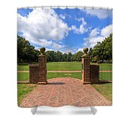 Sunken Garden At William And Mary Shower Curtain