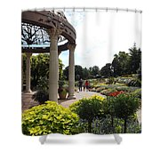 Sunken Garden Ironworks 2 Shower Curtain