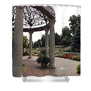 Sunken Garden Ironworks Shower Curtain