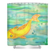 Sunken Gardens Shower Curtain