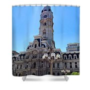 Sunlight City Shower Curtain