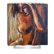 Sunlight - Nudes Gallery Shower Curtain
