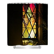 Sunlit Chapel Shower Curtain