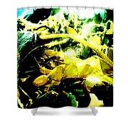 Sunlit Seaweed Shower Curtain