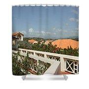 Sunlit Walk Shower Curtain