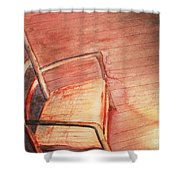 Sunny And Chair Shower Curtain