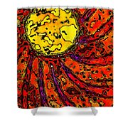Sunny And Warm Today Shower Curtain