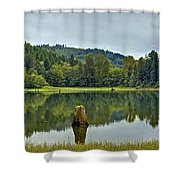 Sunny Beach Point 1 Shower Curtain