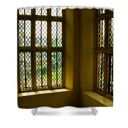Sunny Corner At Montacute House  Shower Curtain