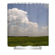 Sunny Day In The Country Shower Curtain