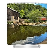 Sunny Days At Mcconnells Mill Shower Curtain
