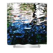 Sunny Lagoon Reflection 29417 Shower Curtain