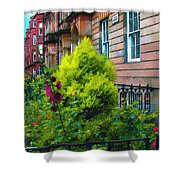 Sunny Morning Mayfair Shower Curtain