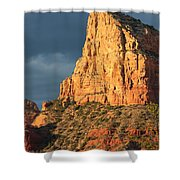 Sunny Side Of Sedona Shower Curtain