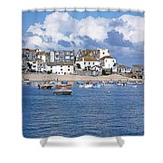 Sunny St Ives Shower Curtain