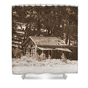 Sunny With Two Porches Shower Curtain