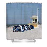 Sunnyday At Clearwater Beach Shower Curtain