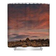 Sunrise Alabama Hills Near Lone Pine Ca Mg 0619 Shower Curtain