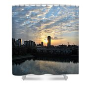 Sunrise Arise Buffalo Ny V2 Shower Curtain