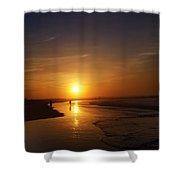 Sunrise At Atlantic City Shower Curtain
