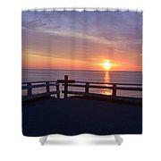 Sunrise At Cape Spear St Johns Newfoundland Shower Curtain