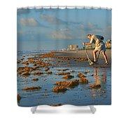 Sunrise At Cocoa Beach Shower Curtain