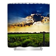 Sunrise At E5 And 180 Shower Curtain