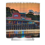 Sunrise At Lulu's Shower Curtain by Michael Thomas